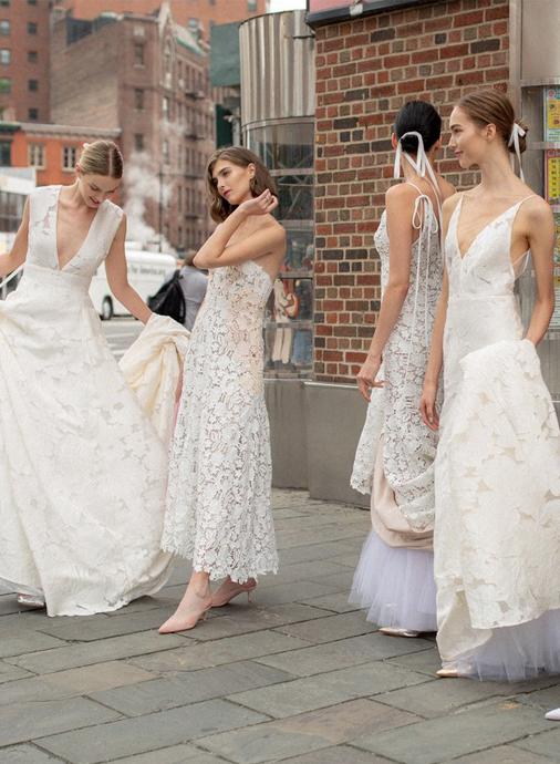 Tendencias en vestidos de novia 2019